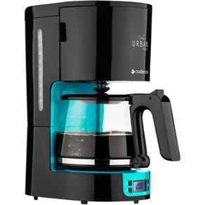 Cafeteira Elétrica Cadence Urban Inspire CAF700 Até 30 Xícaras - Preta/Azul - 110V