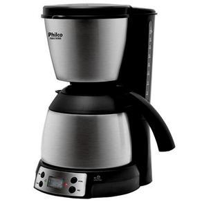 Cafeteira Elétrica Philco PHD40 Thermo - Preto/Aço Escovado - 220V