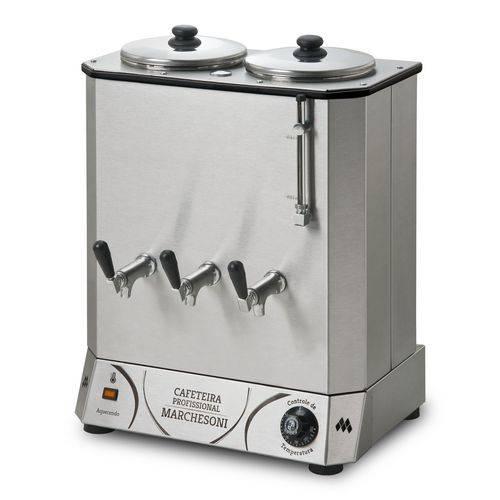 Tudo sobre 'Cafeteira Elétrica Profissional 20 Litros 2 Reservatórios Marchesoni'