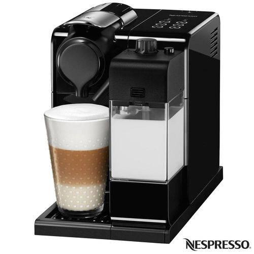 Tudo sobre 'Cafeteira Nespresso Latíssima Touch, 0,9L, 1350w, Preta -110V'