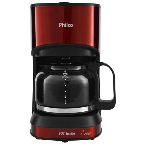 Cafeteira Philco Pcf17 Inox Red 127V