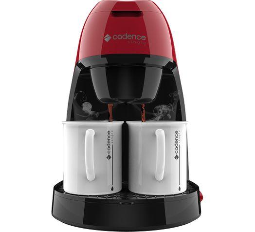 Cafeteira Single Cadence Colors Vermelha - 127V