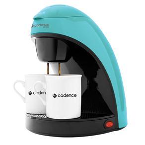 Cafeteira Single Colors Cadence CAF113 Prepara 2 Cafés, com Filtro Permanente e Removível 450W - Azul - 110V