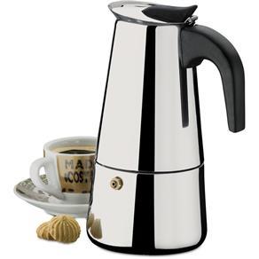 Tudo sobre 'Cafeteira Tipo Italiana Inox 400ml'