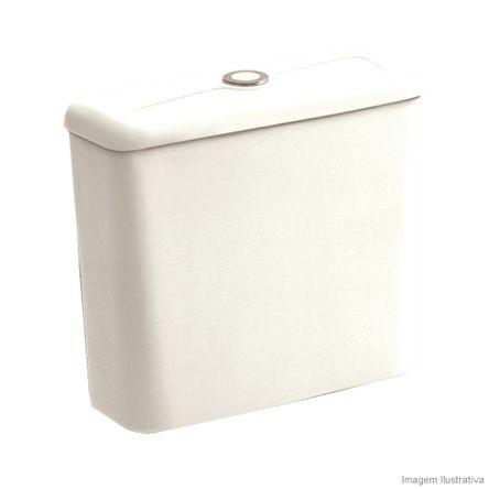 Caixa Acoplada para Bacia 3/6 Litros Ecoflush Thema Biscuit Incepa