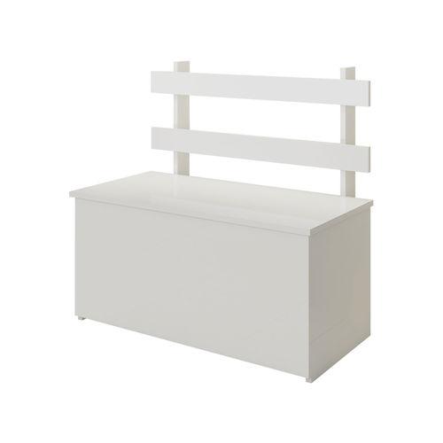 Caixa Baú Multiuso Cl01 Branco Fellicci Móveis