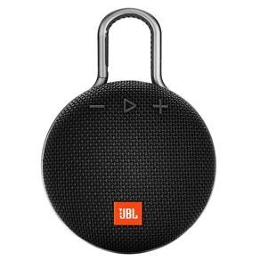 Caixa Bluetooth JBL Clip3 Black IPX7 - Preto
