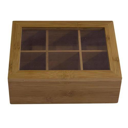 Tudo sobre 'Caixa de Cha de Bambu'
