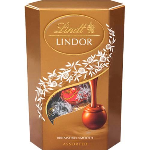 Tudo sobre 'Caixa de Chocolate Suíço Lindor Assorted 200g - Lindt'