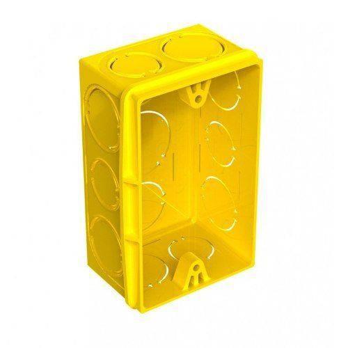 Tudo sobre 'Caixa de Luz 4x2 Amarela Tigre'