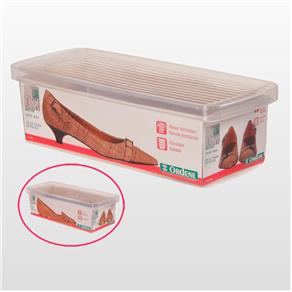 Caixa de Sapato Transparente - Pequeno