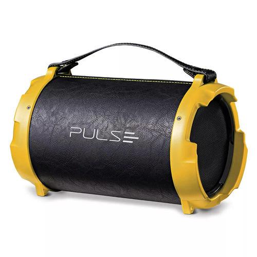 Tudo sobre 'Caixa de Som Bazooka Acabamento de Couro 40w Pulse'