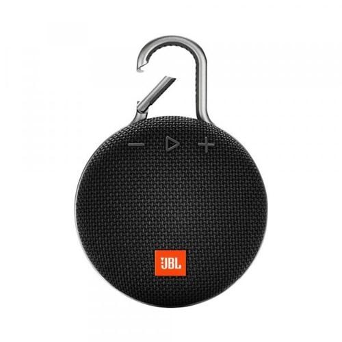 Caixa de Som Bluetooth - 1.0 - JBL Clip 3 Portable Bluetooth Speaker - Preto - JBLCLIP3BLK