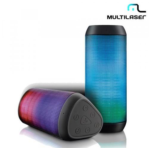Caixa de Som Bluetooth 15W RMS Led Light SP192 - Multilaser