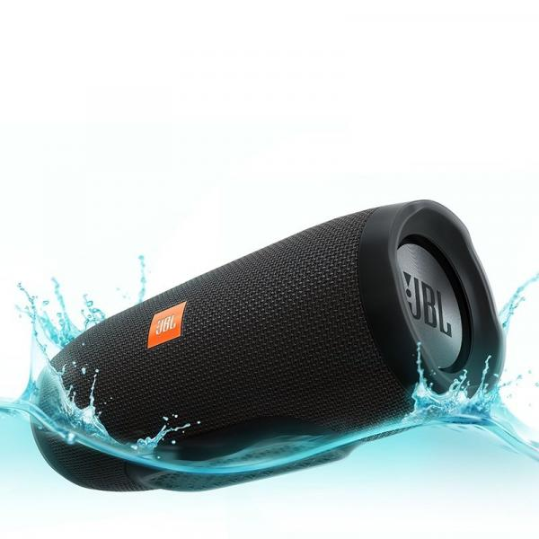 Caixa de Som Bluetooth à Prova DÁgua JBL CHARGE3 Preto