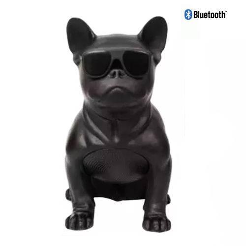 Tudo sobre 'Caixa de Som Bluetooth Bulldog Francês Cachorro Portatil'