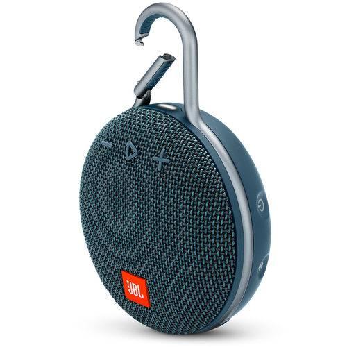 Caixa de Som Bluetooth Clip 3 Navy à Prova DÁgua - JBL