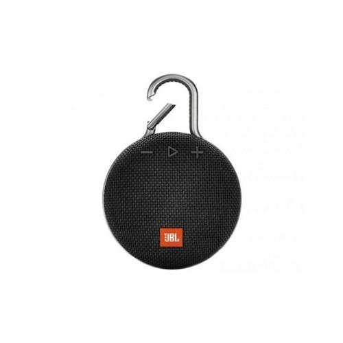 Caixa de Som Bluetooth Clip 3 Preta - JBL
