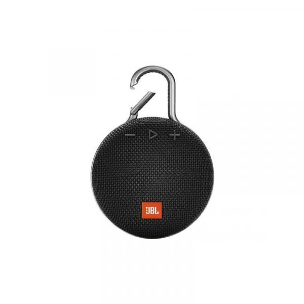 Caixa de Som Bluetooth JBL CLIP 3 3W Preta a Prova D'água
