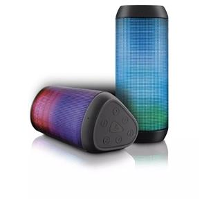 Caixa de Som Bluetooth Led Light SD P2 15w Rms Multilaser