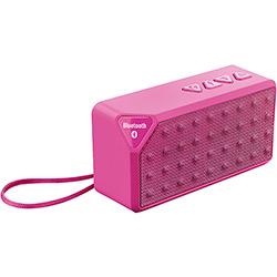 Caixa de Som Bluetooth Multilaser Rms HandsFree Rosa 8w Micro SD AUX