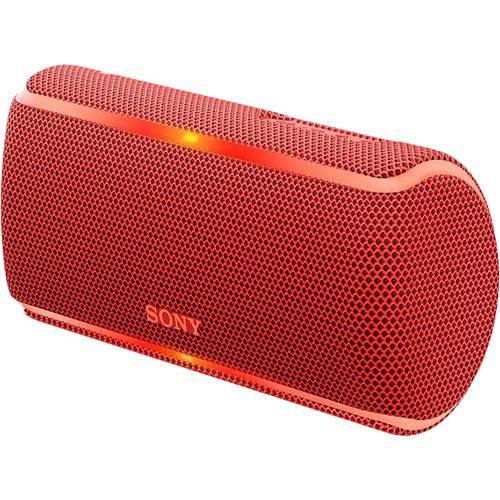 Tudo sobre 'Caixa de Som Bluetooth Sony Sem Fios Srs-xb21 Vermelha Entrada Auxiliar P2'