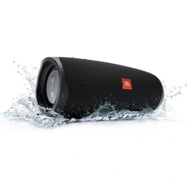 Caixa de Som JBL Charge 4, Bluetooth, à Prova Dágua, Preta