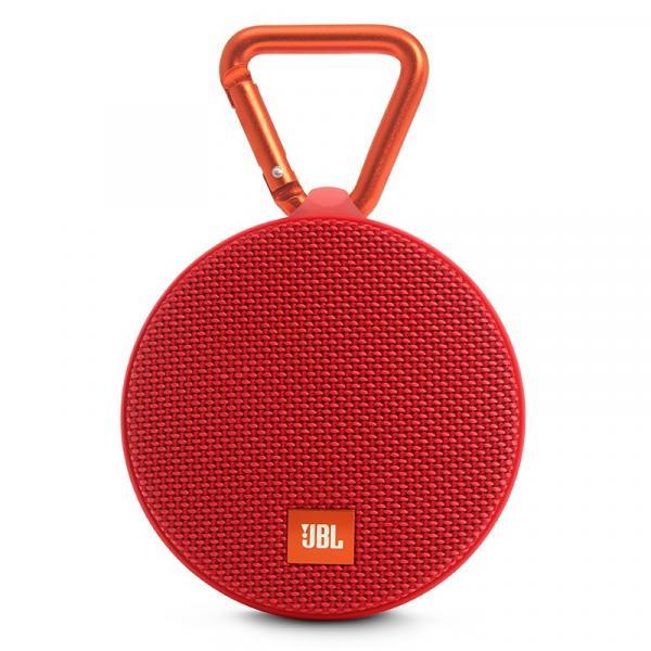 Caixa de Som Jbl Clip 2 Bluetooth Vermelha 3w Rms