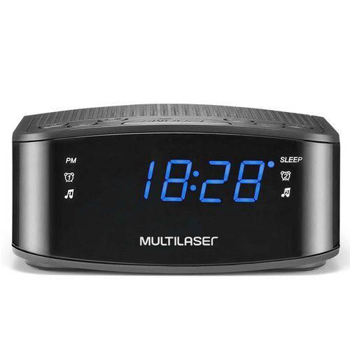 Tudo sobre 'Caixa de Som Multilaser Radio Relógio 1w'