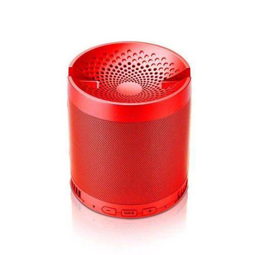 Caixa de Som Portátil Bluetooth Hf-q3 Vermelho