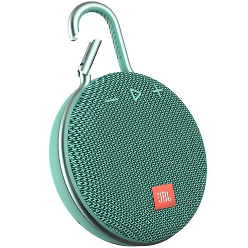 Caixa de Som Portátil Bluetooth Prova D'água Jbl Clip 3 Teal