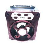 Caixa de Som Portatil Bluetooth Rad7150 Vermelho Inova