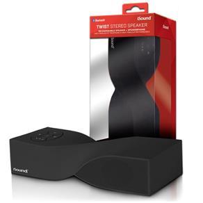 Caixa de Som Portatil Isound Twist Bluetooth Preto Isound