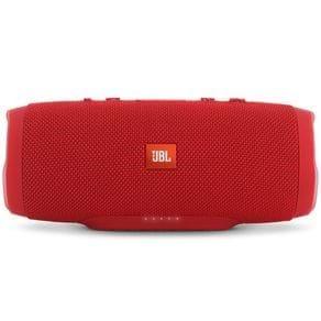 Tudo sobre 'Caixa de Som Portátil JBL Charge 3 com Bluetooth 20W Vermelha'