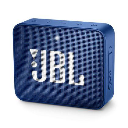 Tudo sobre 'Caixa de Som Portátil JBL Go 2 Azul Bluetooth'
