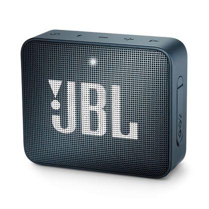 Tudo sobre 'Caixa de Som Portátil JBL Go 2 Navy Bluetooth'