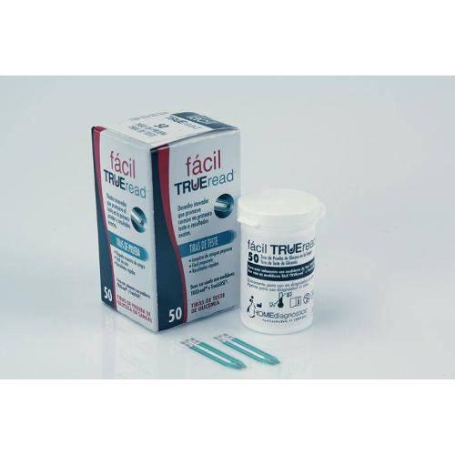 Tudo sobre 'Caixa de Tiras com 50 Unidades para Monitor de Glicose Fácil True Read Nipro Medical'