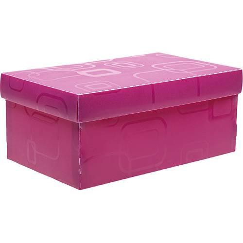 Tudo sobre 'Caixa Organizadora Dellosmile Mini Rosa Pink'