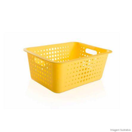 Tudo sobre 'Caixa Organizadora Grande Amarela ou'