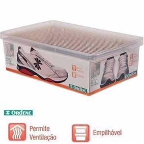 Caixa Organizadora Ordene Grande para Sapatos 35.5X11X23.5Cm