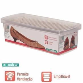 Caixa Organizadora Ordene Pequena para Sapatos 30X9X13Cm