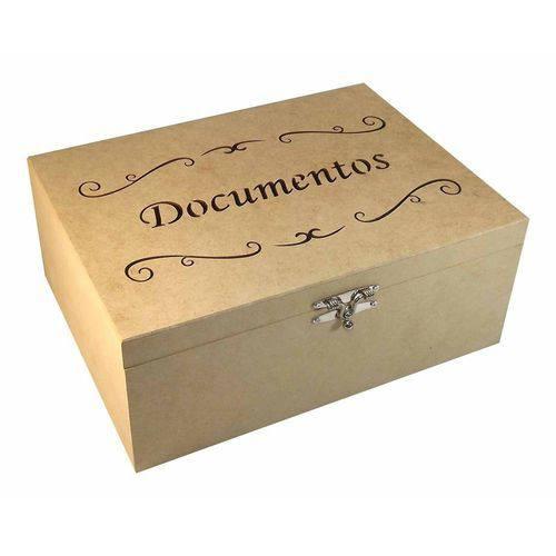 Tudo sobre 'Caixa para Documentos Arabescos Grande - MDF a Laser'