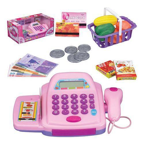 Tudo sobre 'Caixa Registradora Infantil com Acessórios Luz e Som'