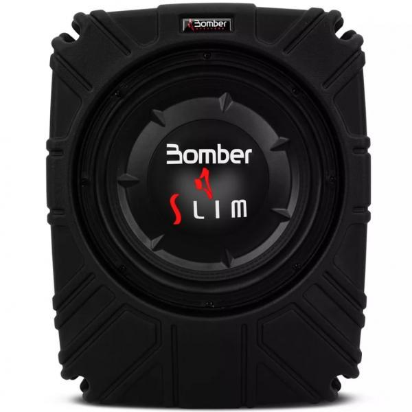 Caixa Selada Bomber Slim Passiva 10 Polegadas 200W 4 OHMS