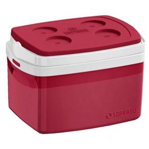 Caixa Térmica 12 Litros - Soprano - Vermelho