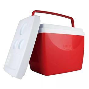 Caixa Térmica 18 Litros Vermelha Mor