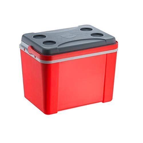 Caixa Térmica 34L Tradicional - Vermelha Lisa