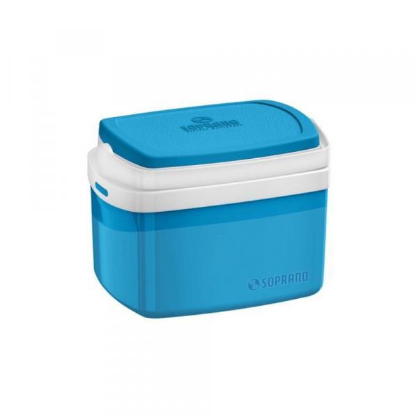 Caixa Térmica 5L Azul Tropical Soprano 09003.5060.55