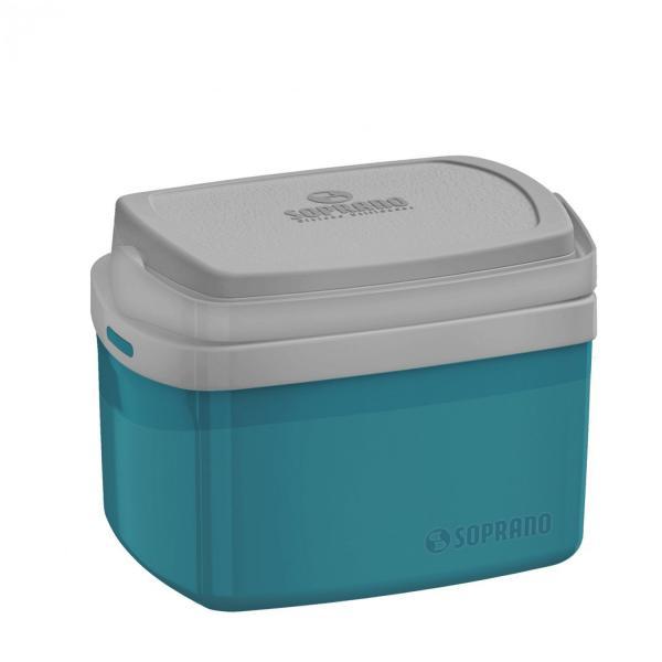 Caixa Térmica 5L Tropical Soprano Azul