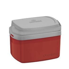 Caixa Térmica 5L Tropical Soprano Vermelho